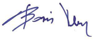 Podpis Borisa Veneta